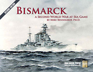 Second World War at Sea: Bismarck, Second Edition (T.O.S.) -  Avalanche Press