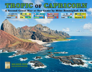 Tropic Of Capricorn On World Map.Avalanche Press
