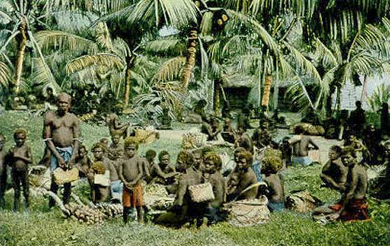 New Guinea market day